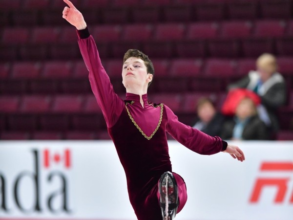 A photo of figure skater Daniel Kreft.