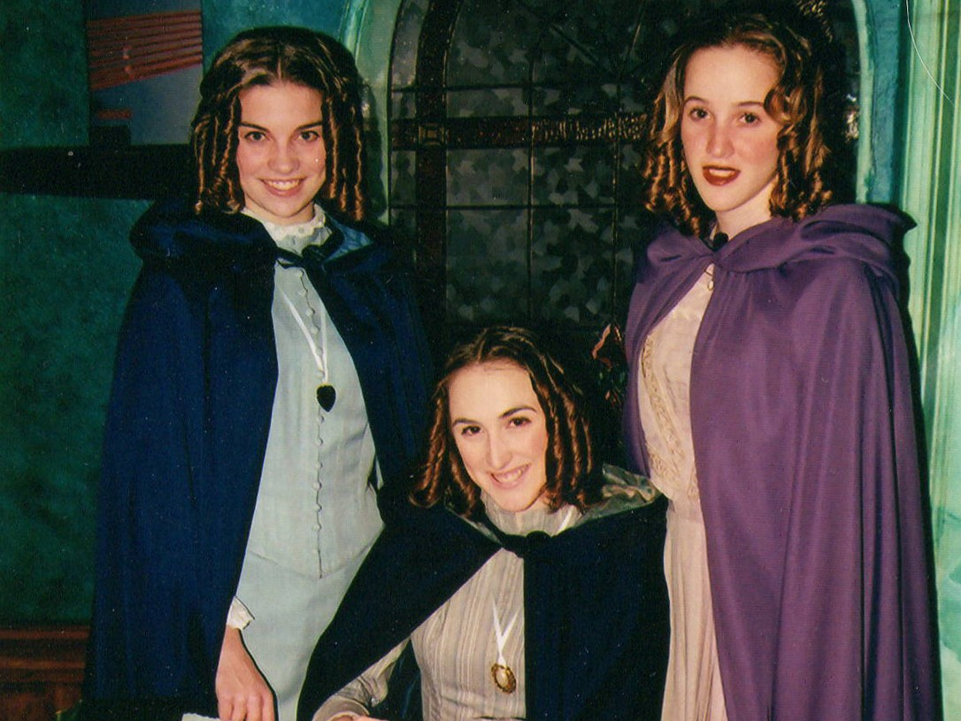 Annie Murphy in a school production