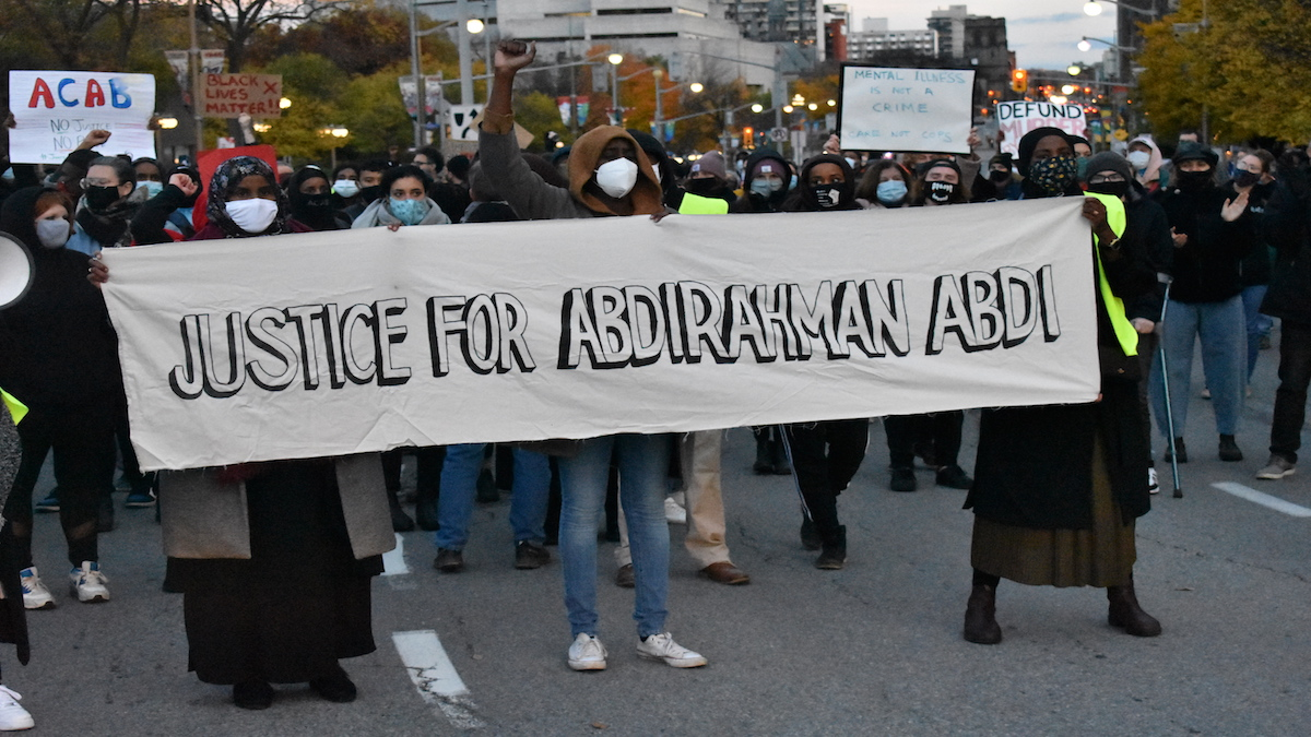 Acquittal of Ottawa police officer in death of Abdirahman Abdi draws reaction from across Canada