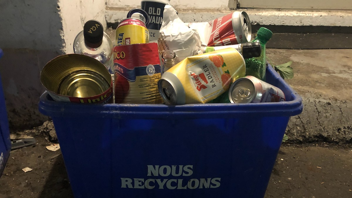 Ontario aims to expand curbside recycling and make producers responsible