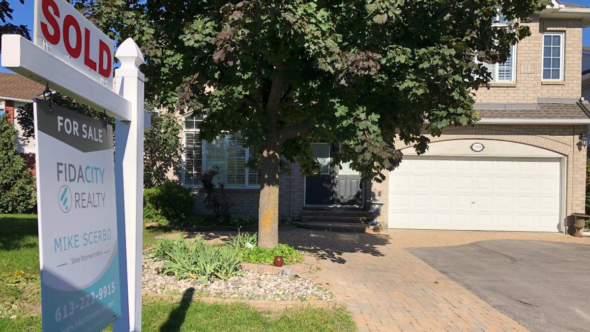 a home sold by real estate agent mike scerbo in the Ottawa area