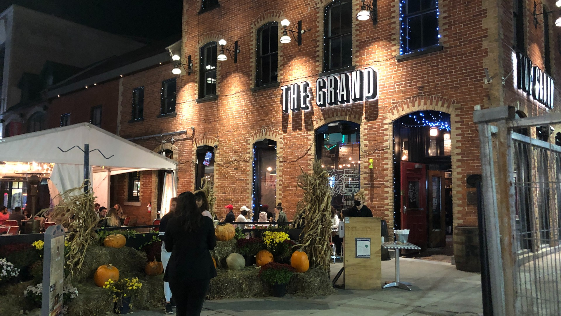The entrance of The Grand Pizzeria and Bar in By-Ward Market