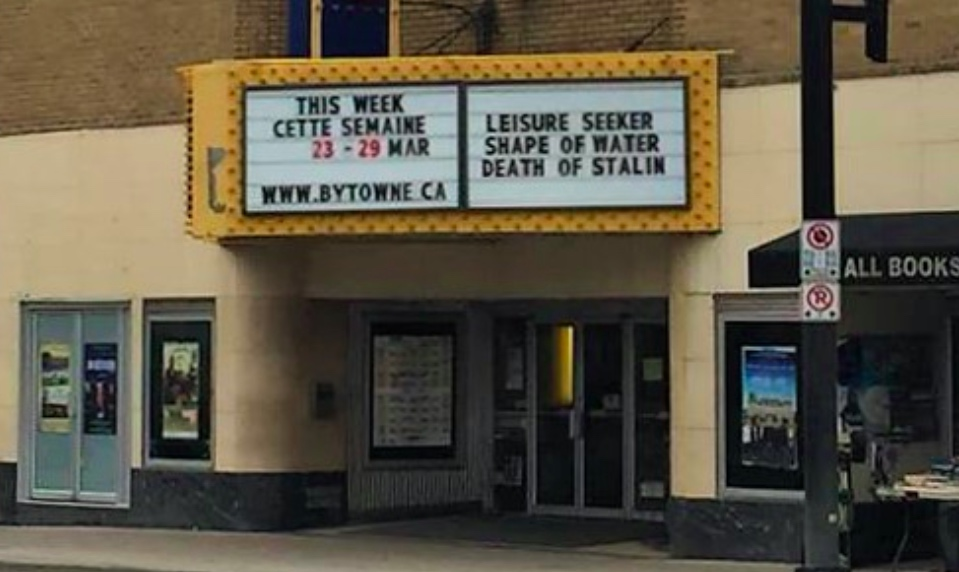 Saying goodbye to the Bytowne underlines importance of supporting small cinemas