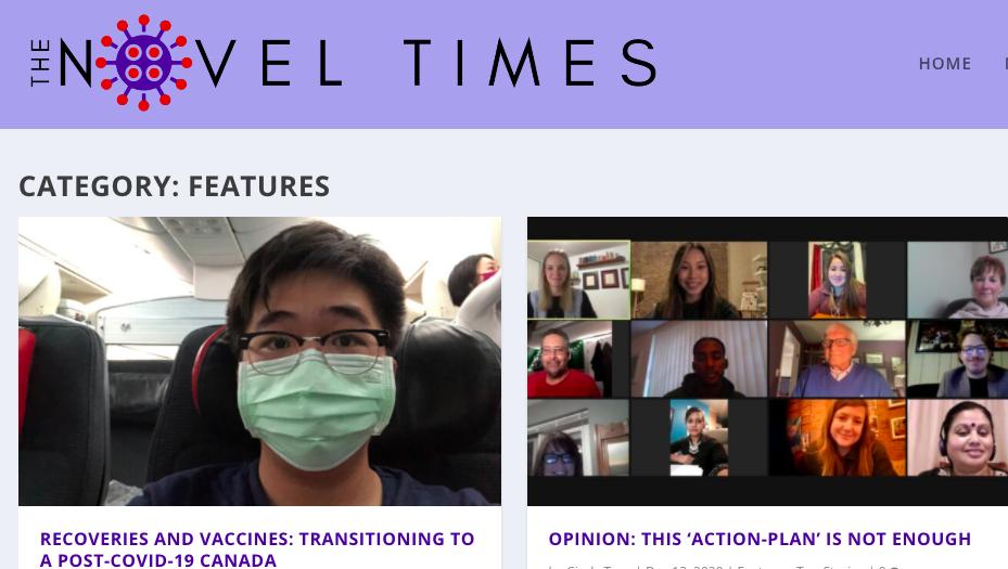 Carleton's MJ class explores COVID-19's 'novel times'