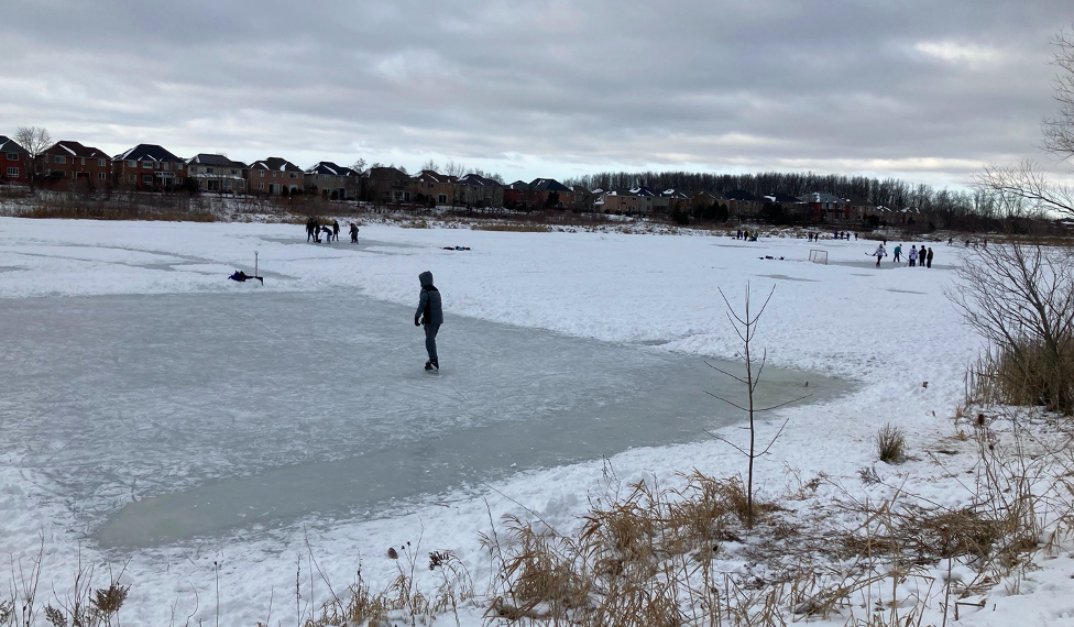 COVID conflict: Skaters face bylaw scrutiny at Mississauga pond popular for pandemic exercise