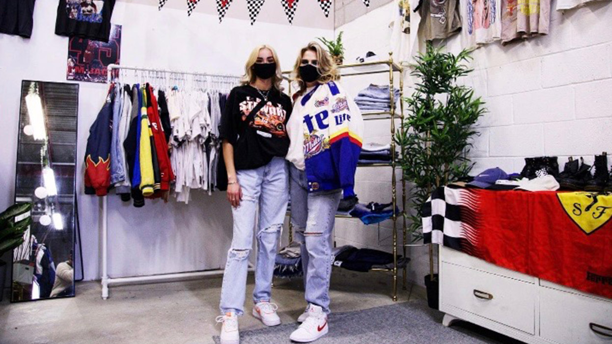 Thrifting entrepreneurs find Instagram a good fit for finding customers