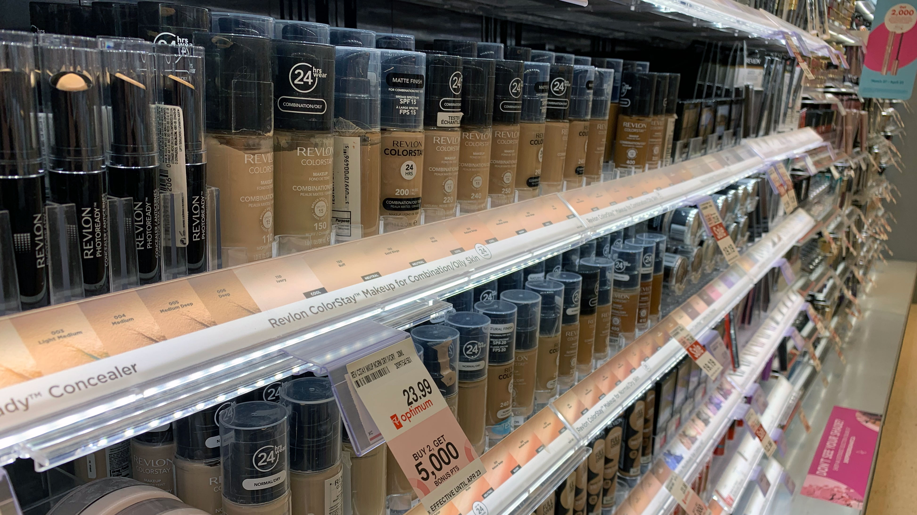 Drug store cosmetic brands failing to cater to many BIPOC consumers