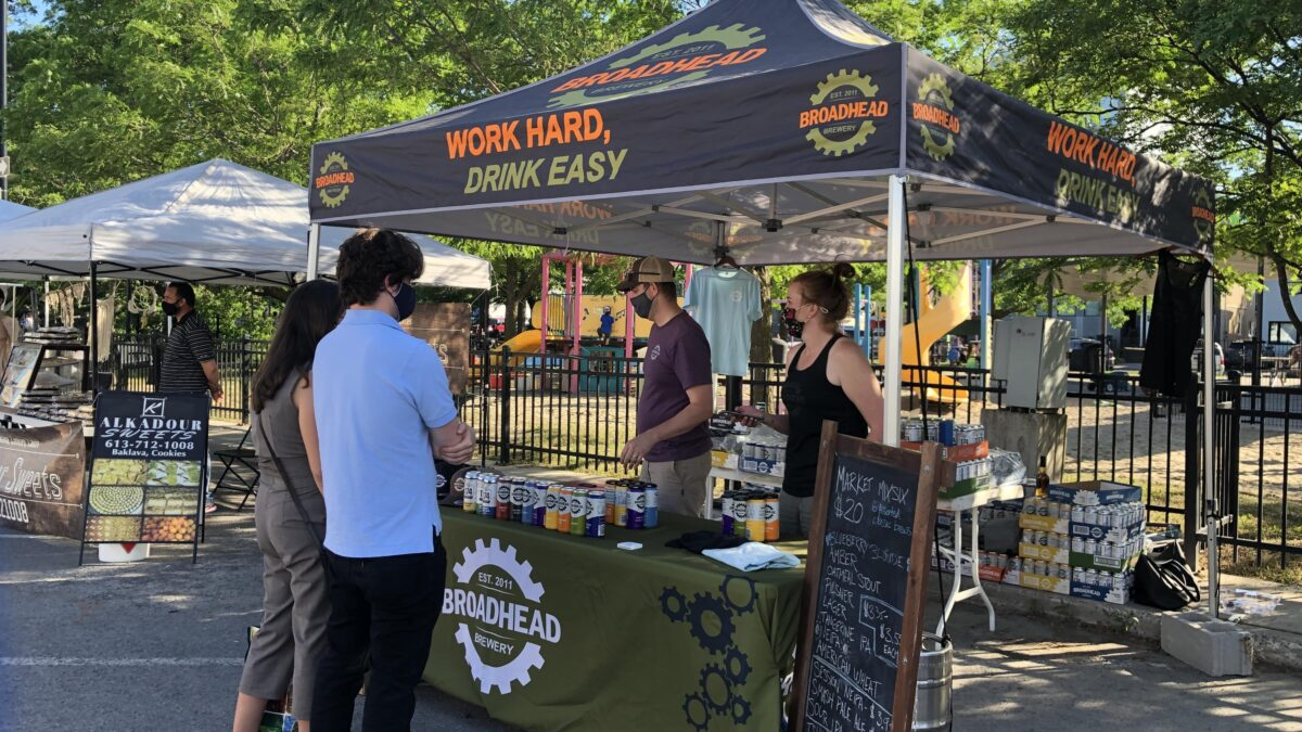 Parkdale Night Market has become a welcome 'lifeline' for local distilleries and breweries