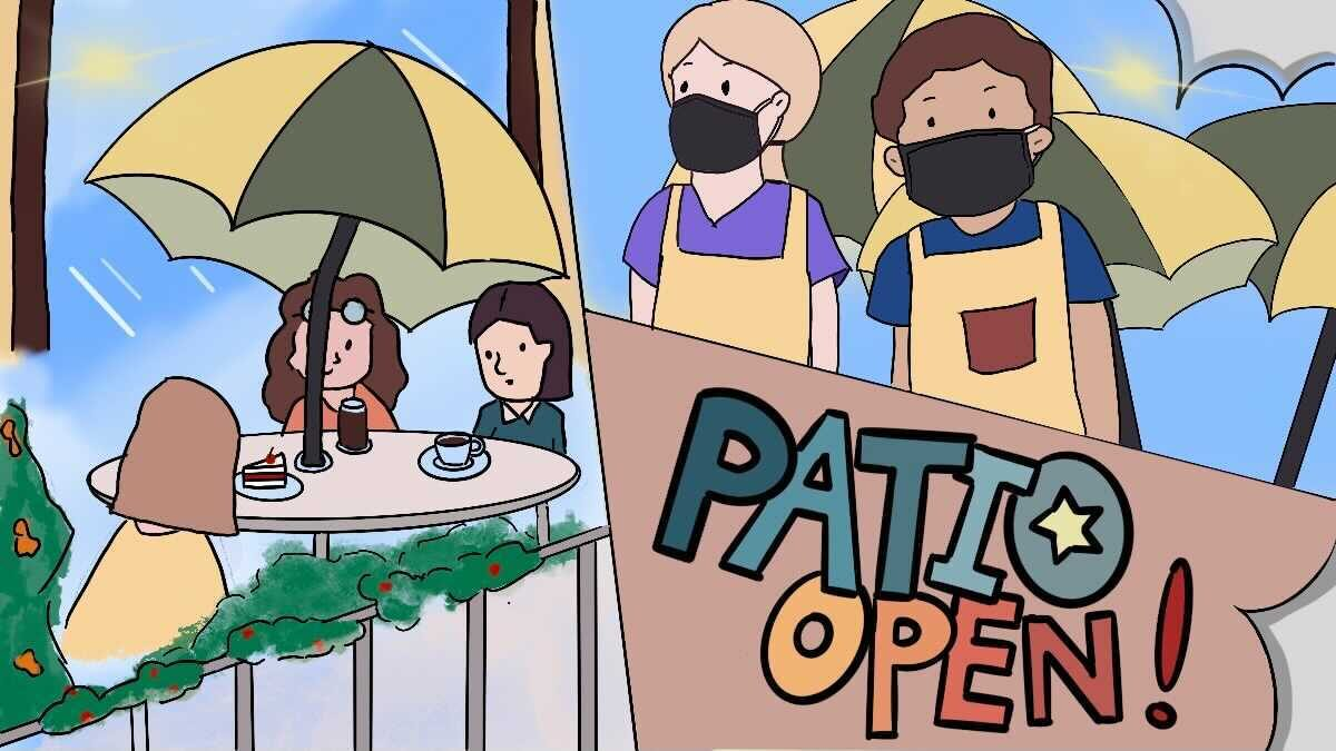 COVID consequences: Patio season isn't all wine and roses for the servers