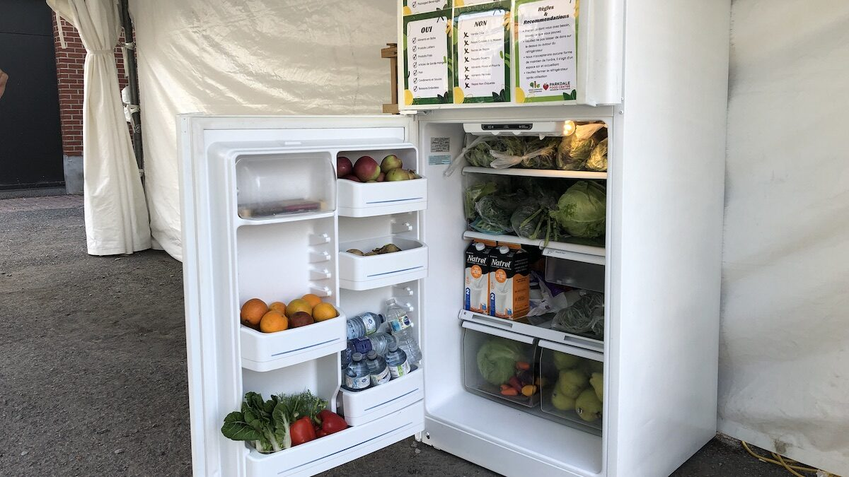 Outside the box: New community fridge aims to feed those in need