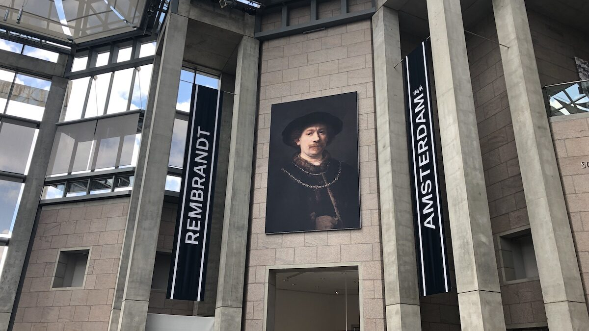 Past and present meet in Rembrandt exhibition at National Gallery