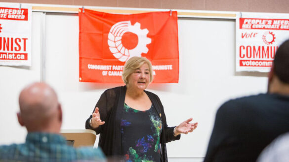 It's a representative image of the Communist Party of Canada