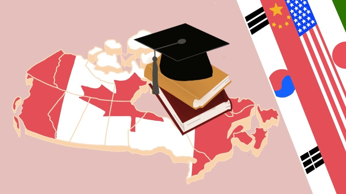 Increasing number of international students choosing Canadian universities, report shows