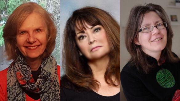 Three finalists for Archibald Lampman Award: Doris Fiszer, Deborah-Anne Tunney, and Pearl Pirie.