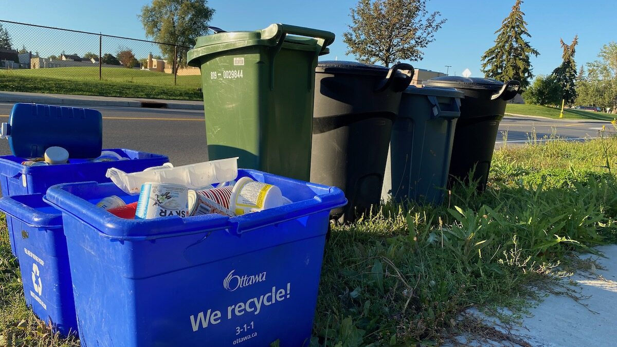 City of Ottawa's new recycling regime will shift responsibility to producers to re-use, divert waste