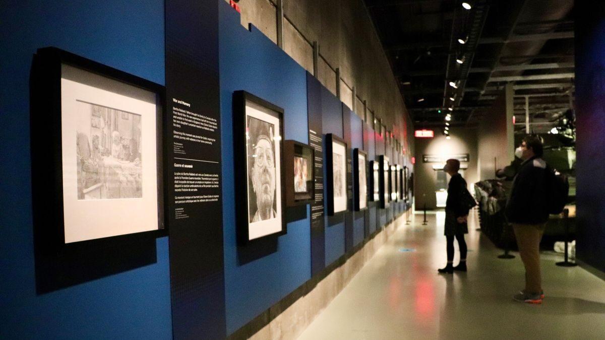 Ottawa artist's portraits reveal personal stories of Second World War