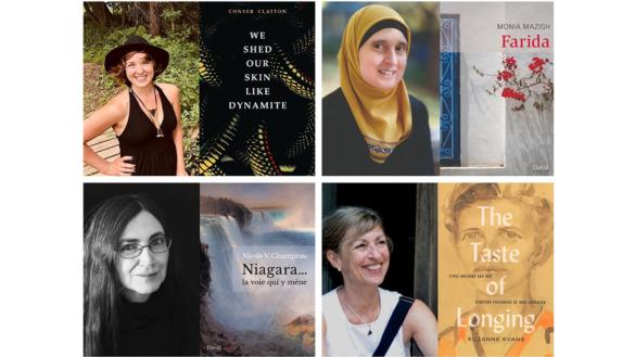Collage of Ottawa Book Awards winners